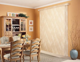 Dining Room Vertical Blinds