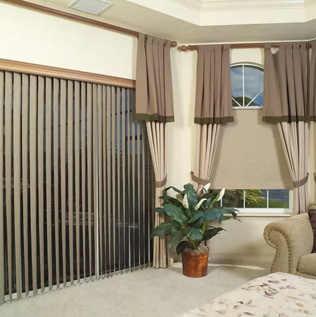 Beautiful Vertical Blinds for your Living Room